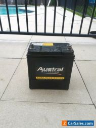 Austral battery, as new in great condition, black Euro plus series