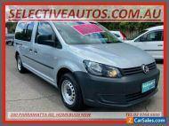 2013 Volkswagen Caddy 2K MY13 Maxi TDI250 Bluemotion Silver Automatic 7sp A Van