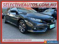 2018 Honda Civic MY18 VTi-SL (Luxe) Limited Edition Blue Automatic A Sedan