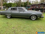 Vintage V8 GANGSTER SEDAN****  1980 OLDSMOBILE 98 Regency Auto RH DRIVE Runs wel