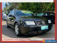 2004 Volkswagen Bora 1J 2.3L V5 Black Manual 5sp M Sedan