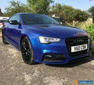 2015 Audi A5 Coupe Black Edition Plus 3.0 TDI Quattro 3dr Sepang Blue