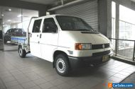 VOLKSWAGEN TRANSPORTER DUAL CAB CHASSIS EASY FINANCE 02 9479 9555