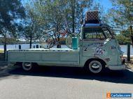 vw volkswagen kombi 1957 split window safari ute commercial pickup