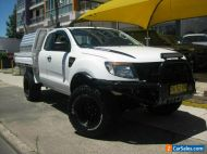 2011 Ford Ranger PX XL 3.2 (4x4) White Manual 6sp M Super Cab Chassis