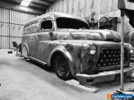 57 Dodge panelvan project will exchange for completed ute bike or what have you