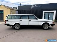 1990 VOLVO 240GL 20th Anniversary Limited Edition Wagon AIR STEER Elec Wind, VW