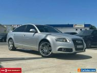 2010 Audi A6 4F Sedan 4dr multitronic 1sp 2.0T [MY10] Silver Automatic A Sedan