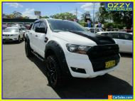 2015 Ford Ranger PX MkII XLS 3.2 (4x4) Cool White Manual 6sp M