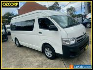 2013 Toyota HiAce TRH223R MY12 Upgrade Commuter White Automatic 4sp A Bus