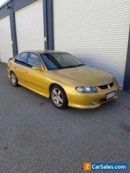 2001 Holden Commodore VX SS SERIES 2 Sedan 6sp MANUAL 5.7 LITRE HYPER YELLOW