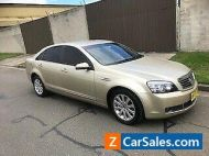 2008 HOLDEN STATESMAN V6 AUTOMATIC LONG REGO 11/08/2021 TOP CONDITION