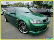 2009 Holden Commodore VE MY09.5 SS Green Manual 6sp M Sedan