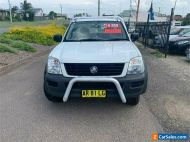2004 Holden Rodeo RA LX White Manual M Cab Chassis