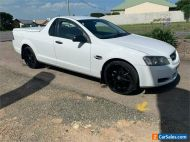 2009 Holden Ute VE Omega White Automatic A Utility