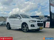 2016 Holden Captiva CG LTZ Wagon 7st 5dr Spts Auto 6sp AWD 2.2DT [MY16] White A