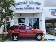 2002 Chevrolet Tahoe Commercial 1-Owner 4x4 4WD Vinyl Seats Power Windows