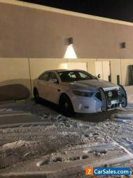 Ford: Taurus Police Interceptor Sedan