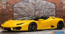 2017 Lamborghini Huracan LP 580-2 Spyder 2dr Convertible