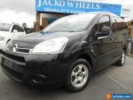 2014 Citroen Berlingo B9C MY13 1.6 HDi Long Black Manual 5sp M Van