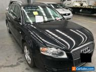 2007 Black Audi A4 Station Wagon