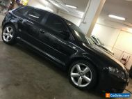 AUDI A3 1.8L TURBO S LINE BLACK  EXCELLENT CONDITION