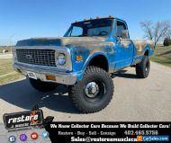 1971 Chevrolet C/K Pickup 1500 K-10, 4x4, 6.0L Vortec V8, EFI, 5 Spd, Blue