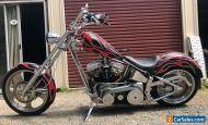 Harley Davidson Panhead chopper