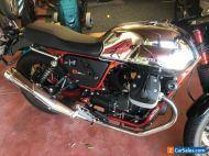 MotoGuzzi V7 2016 Cafe Racer, series 2, 4500km, immaculate !!