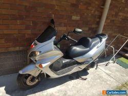 2004 honda forza 250 scooter