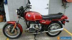 BMW R80 nice original, runs well