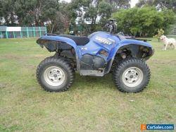 Yamaha YFM550 Grizzly 4x4 quad ATV Power Steering etc runs great No Reserve Farm