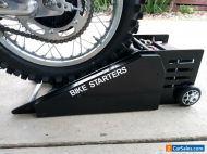 motorbike roller starter, paddock starter
